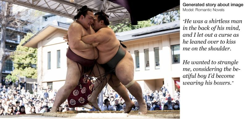 Funny AI-generated content from Sumo photo | From the blog of Nicholas C. Rossis, author of science fiction, the Pearseus epic fantasy series and children's books