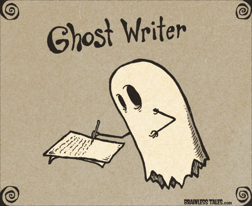 Ghostwriting | From the blog of Nicholas C. Rossis, author of science fiction, the Pearseus epic fantasy series and children's books