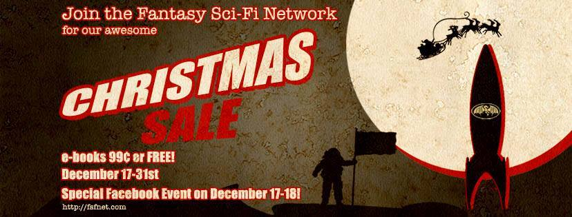 FSFNet Christmas Sale   From the blog of Nicholas C. Rossis, author of science fiction, the Pearseus epic fantasy series and children's books