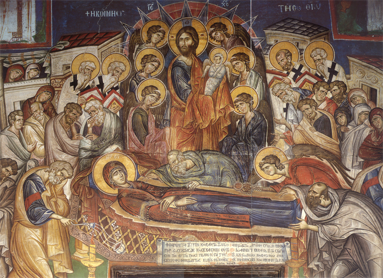 Virgin Mary's Death | From the blog of Nicholas C. Rossis, author of science fiction, the Pearseus epic fantasy series and children's books