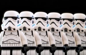 Lego Stormtroopers | From the blog of Nicholas C. Rossis, author of science fiction, the Pearseus epic fantasy series and children's book