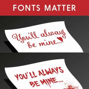Fonts matter | From the blog of Nicholas C. Rossis, author of science fiction, the Pearseus epic fantasy series and children's books