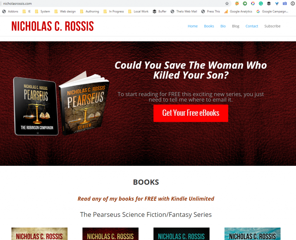 Free books - Subscribe | From the blog of Nicholas C. Rossis, author of science fiction, the Pearseus epic fantasy series and children's books