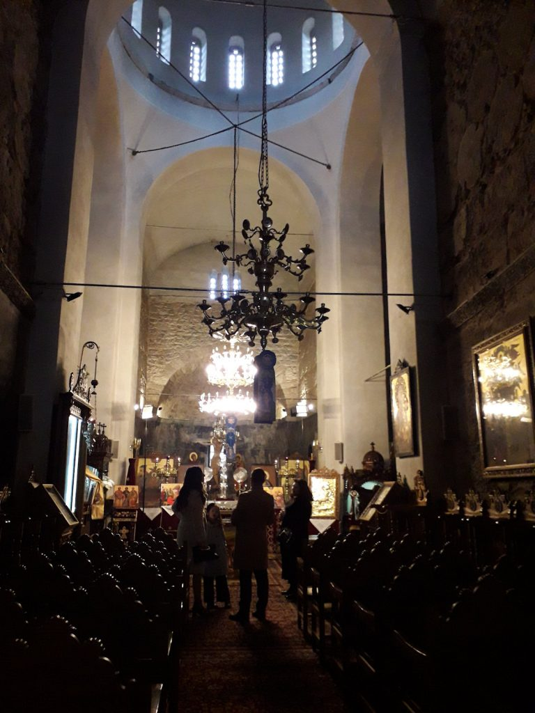 Panagia Skripou interior | From the blog of Nicholas C. Rossis, author of science fiction, the Pearseus epic fantasy series and children's book