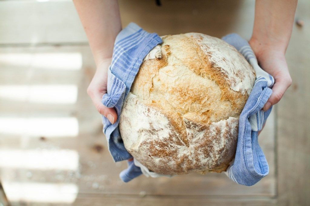 Loaf of bread   From the blog of Nicholas C. Rossis, author of science fiction, the Pearseus epic fantasy series and children's books