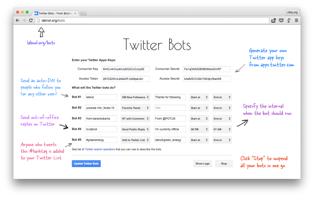 Twitter bots | From the blog of Nicholas C. Rossis, author of science fiction, the Pearseus epic fantasy series and children's books