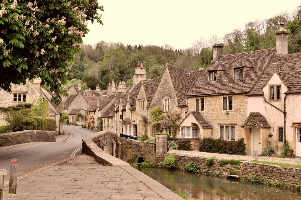 Quaint English village | From the blog of Nicholas C. Rossis, author of science fiction, the Pearseus epic fantasy series and children's books