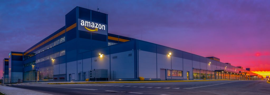 Amazon logistics center in Poland| From the blog of Nicholas C. Rossis, author of science fiction, the Pearseus epic fantasy series and children's books