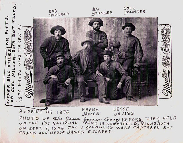 The James gang | From the blog of Nicholas C. Rossis, author of science fiction, the Pearseus epic fantasy series and children's books