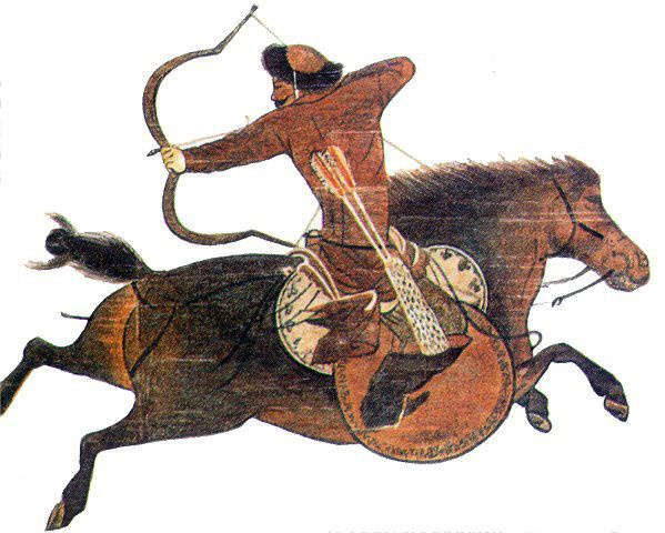 Mongol horse archer | From the blog of Nicholas C. Rossis, author of science fiction, the Pearseus epic fantasy series and children's books