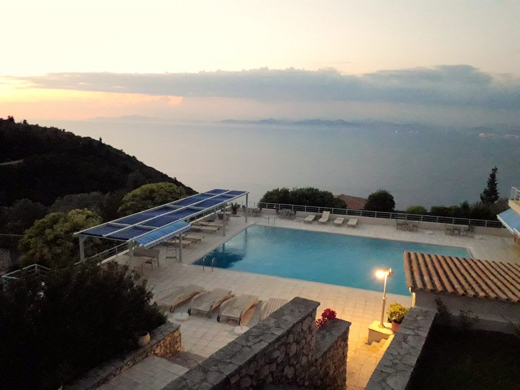 Lefkada Mira resort | From the blog of Nicholas C. Rossis, author of science fiction, the Pearseus epic fantasy series and children's books