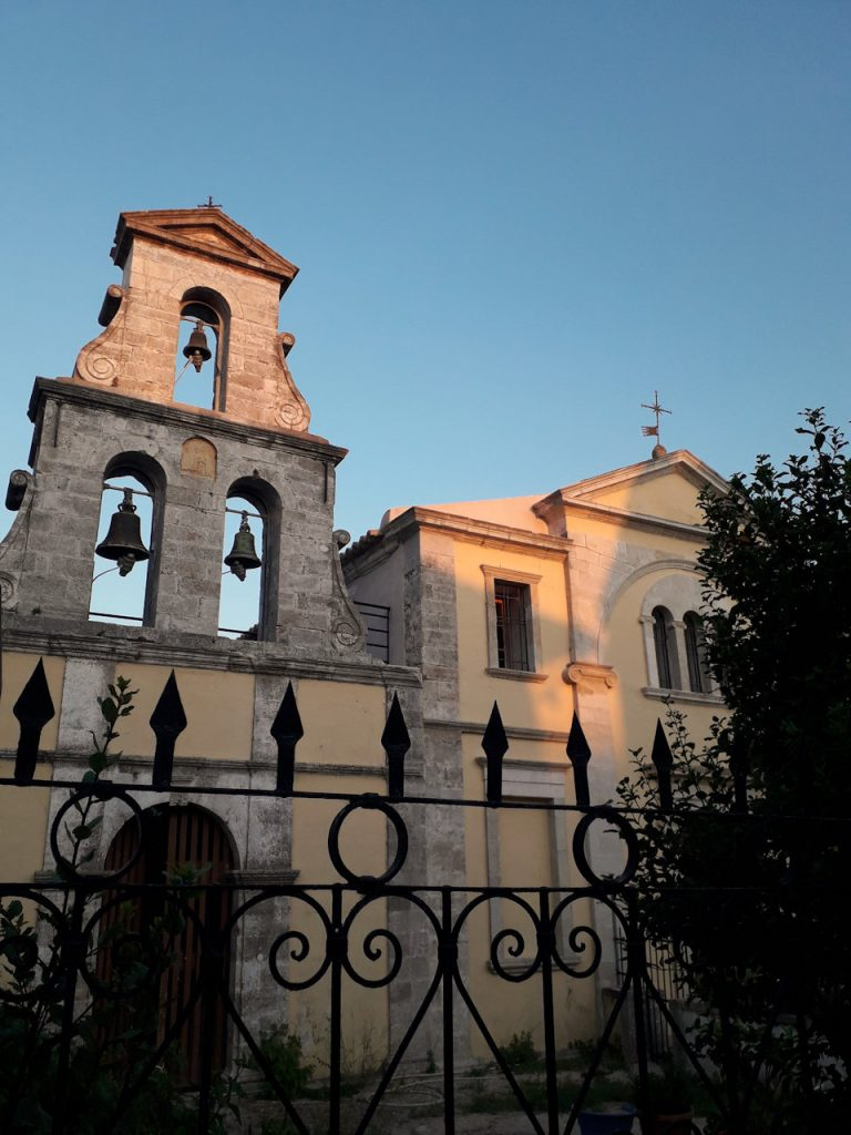 Lefkada church | From the blog of Nicholas C. Rossis, author of science fiction, the Pearseus epic fantasy series and children's books