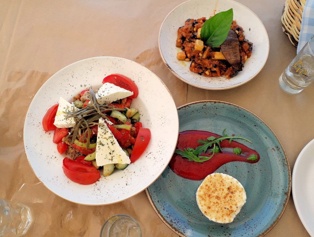 Lefkada food | From the blog of Nicholas C. Rossis, author of science fiction, the Pearseus epic fantasy series and children's books