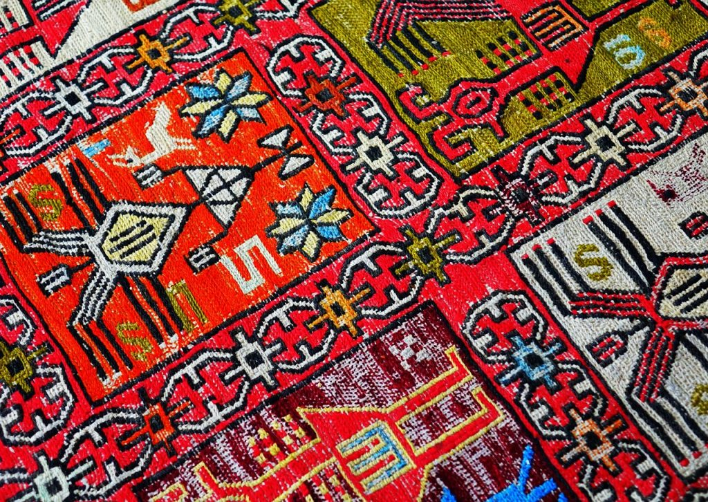 Persian rug | From the blog of Nicholas C. Rossis, author of science fiction, the Pearseus epic fantasy series and children's books