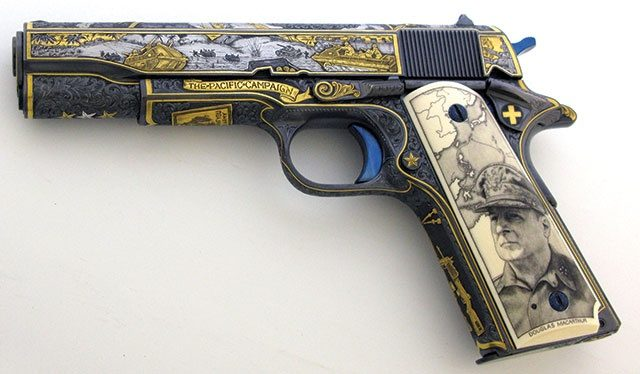 McArthur's gun   From the blog of Nicholas C. Rossis, author of science fiction, the Pearseus epic fantasy series and children's books