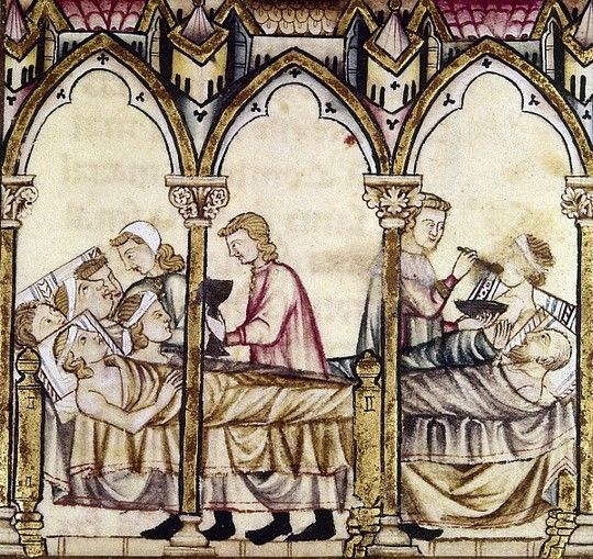 Bathing in the Middle Ages | From the blog of Nicholas C. Rossis, author of science fiction, the Pearseus epic fantasy series and children's book