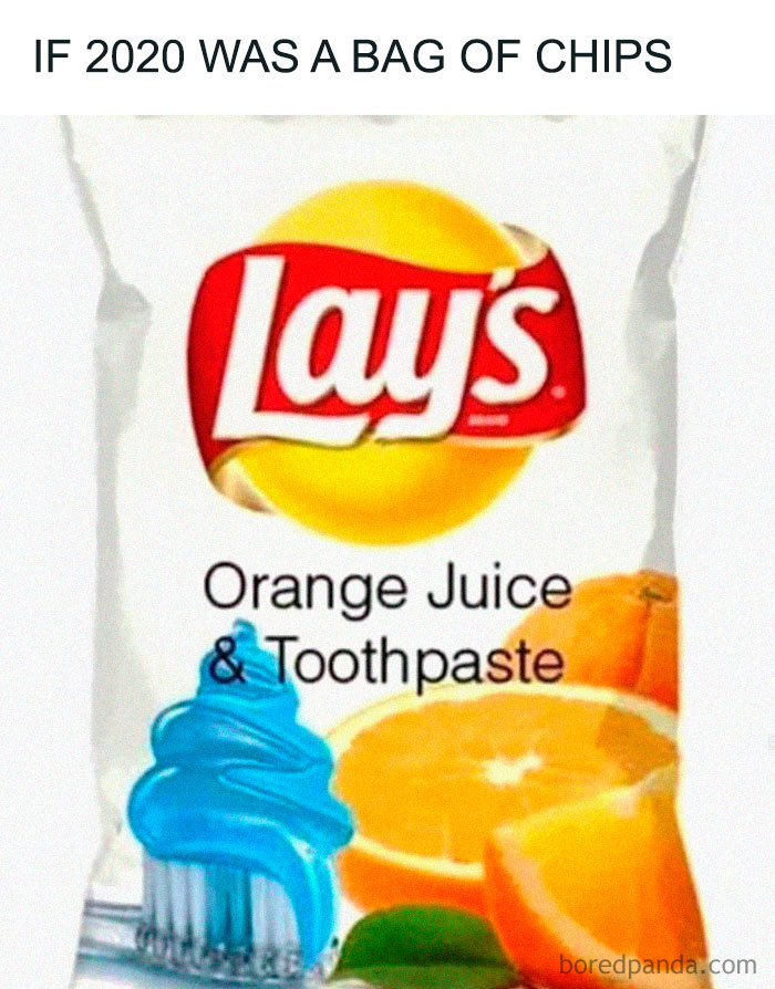 Lay's - funny 2020 meme | From the blog of Nicholas C. Rossis, author of science fiction, the Pearseus epic fantasy series and children's book