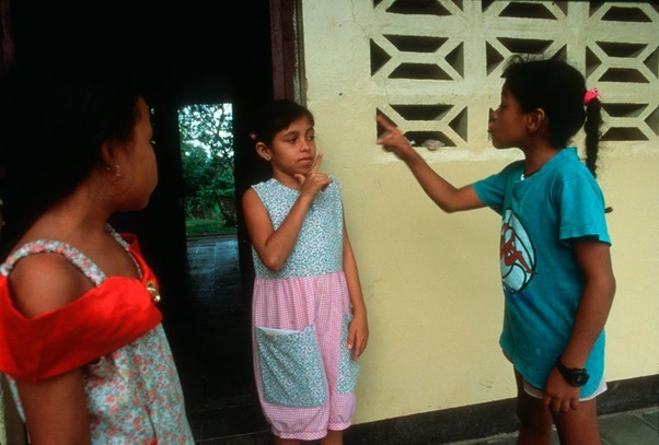 Nicaraguan Sign Language | From the blog of Nicholas C. Rossis, author of science fiction, the Pearseus epic fantasy series and children's book