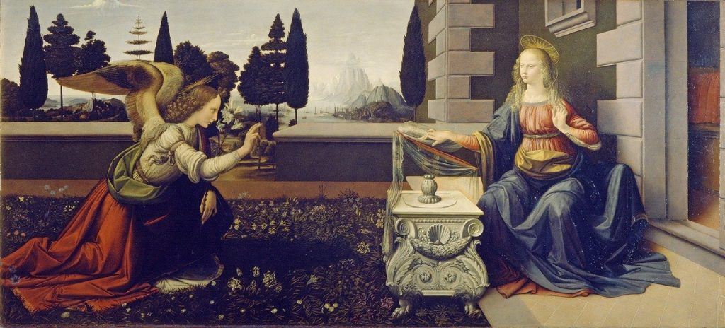 The Annunciation | From the blog of Nicholas C. Rossis, author of science fiction, the Pearseus epic fantasy series and children's book