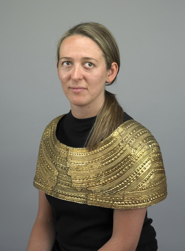 Mold Cape worn by woman | From the blog of Nicholas C. Rossis, author of science fiction, the Pearseus epic fantasy series and children's book