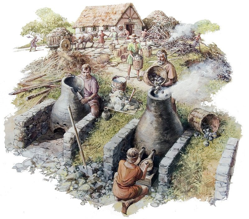 Iron Age metallurgists | From the blog of Nicholas C. Rossis, author of science fiction, the Pearseus epic fantasy series and children's book