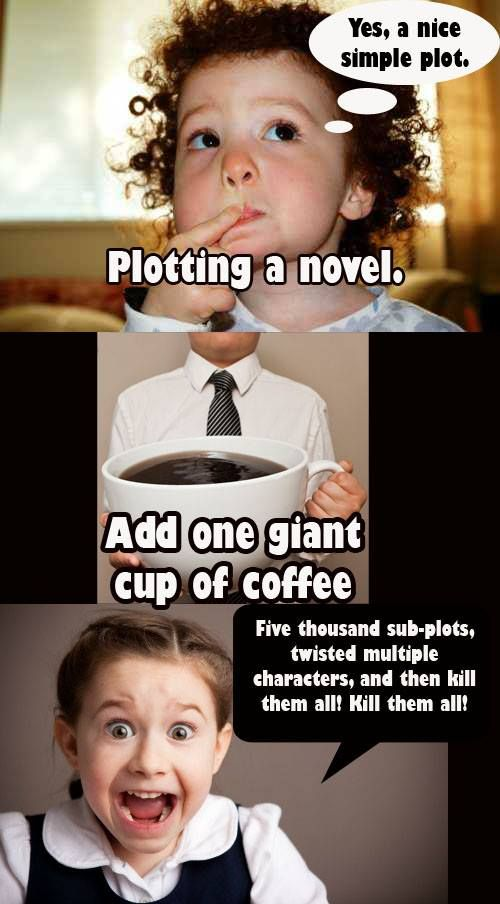 Funny writing novel plot meme | From the blog of Nicholas C. Rossis, author of science fiction, the Pearseus epic fantasy series and children's books