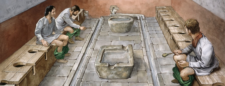 Roman toilet | From the blog of Nicholas C. Rossis, author of science fiction, the Pearseus epic fantasy series and children's book