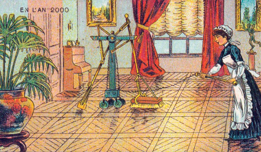 1899 postcard vacuum   From the blog of Nicholas C. Rossis, author of science fiction, the Pearseus epic fantasy series and children's books