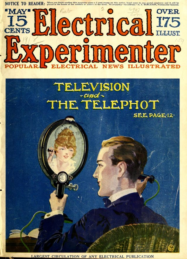 1918 telephot   From the blog of Nicholas C. Rossis, author of science fiction, the Pearseus epic fantasy series and children's books