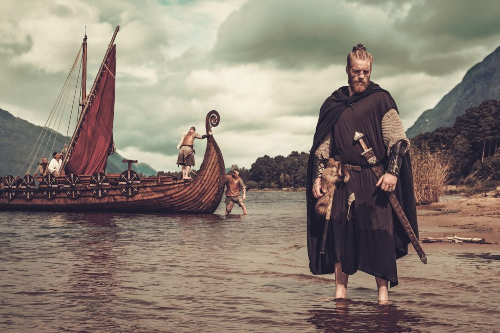 Viking landing | From the blog of Nicholas C. Rossis, author of science fiction, the Pearseus epic fantasy series and children's books